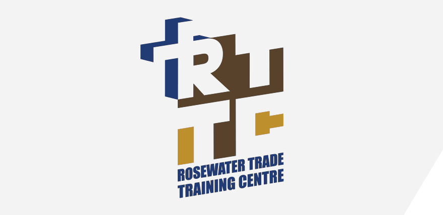 Rosewater Trade Training Centre logo panel
