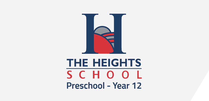 The Heights Logo Panel