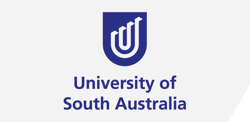 University of South Australia logo panel